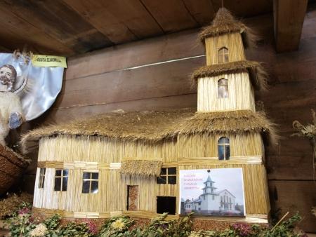 lubelszczyzna: Museum of harvest wreaths, Krasnobrod, Poland