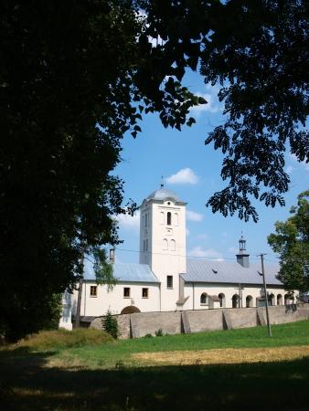 Former Benedictine monastery with the church of St  Catherine of Alexandria, Swieta Katarzyna, Poland photo