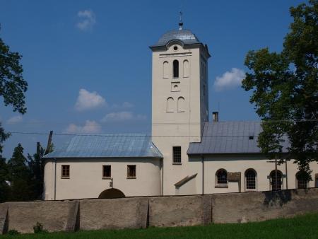 Former Bernardine monastery with the church of St  Catherine of Alexandria, Swieta Katarzyna, Poland photo