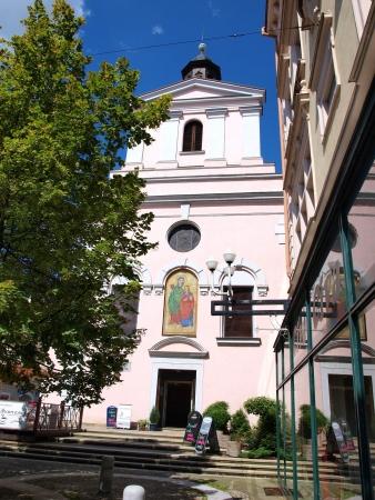 ceske: The former church of St. Anne, Ceske Budejovice, Czech Republic