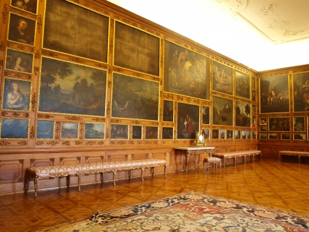 ceska: Throne Hall, The Archbishops Chateau, Kromeriz