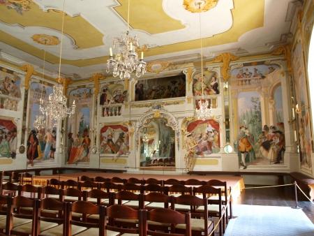 Masquerade Hall, Castillo de Cesky Krumlov, Rep�blica Checa