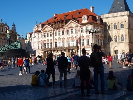 Golz-Kinsky Palace, Old town square, Prague, Czech Republic