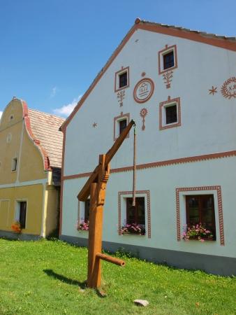 republika: UNESCO site Holasovice, Czech Republic