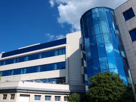 ceske: Budvar brewery house office building, Ceske Budejovice, Czech Republic