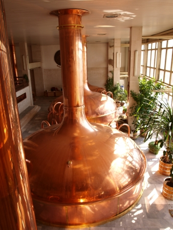 brewery: Malthouse at the Budvar brewery, Ceske Budejovice, Czech Republic