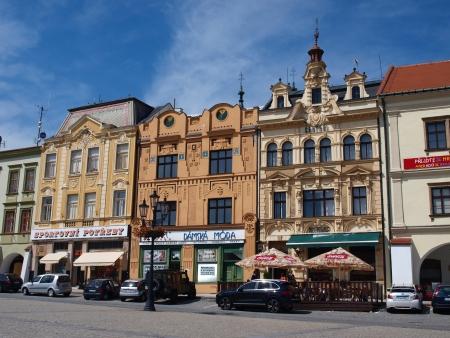 republika: The Great Market Square, Kromeriz, Czech Republic
