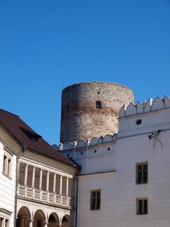 republika: Jindrichuv Hradec castle, Czech Republic Editorial