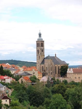 republika: Saint James church, Kutna Hora, Czech Repub