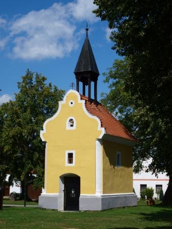 Shrine of St John of Nepomuk, Holasovice, Czech Republic Stock Photo - 15318737