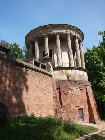 sibyl: The first Polish museum called the Temple of Sibyl, established by Izabela Czartoryska, Pulawy, Poland Editorial
