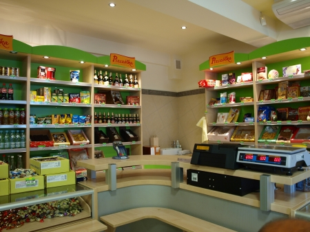 lubelszczyzna: Candy factory Pszczolka outlet shop, Lublin, Poland