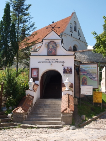 Church of the Annunciation of the Virgin Mary, Kazimierz Dolny, Poland Stock Photo - 15453180