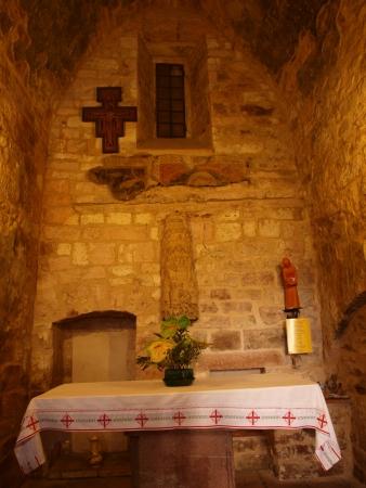 oratorio: Oratorio di San Fransis, luogo di nascita del santo, Assisi, Italia Editoriali