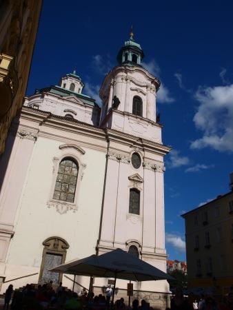 republika: Church of St Nicholas, Prague, Czech Republic