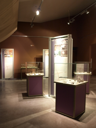 neolithic: Museo moderno multimedia en la mina neol�tica de s�lex rayado, Krzemionki, Polonia