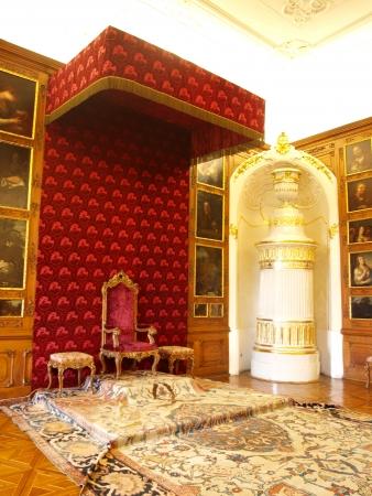 episcopal: Interiors of the Archbishop Palace in Kromeriz, Czech Republic