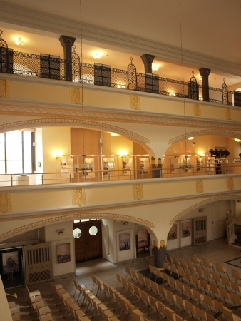 renovated: The renovated White Stork synagogue, Wroclaw, Poland Editorial