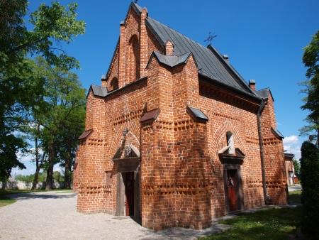 Grave chapel of Piotr Strzemienczyk, Piotrawin, Poland photo