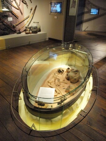 lublin: Archeological museum, Lublin castle, Poland