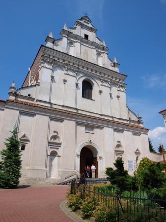 lubelszczyzna: ST AGNES CHURCH, LUBLIN, POLAND Stock Photo