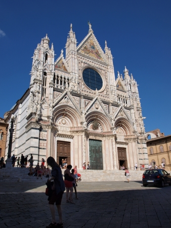 Cathedral of Most Holy Mary of Assumption, Siena, Italy Stock Photo - 21519447