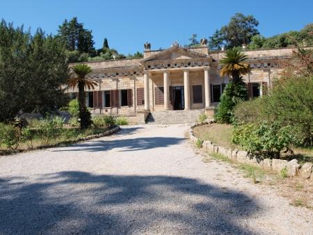 Villa San Martino, Napoleons seat at Isle of Elba, San Martino, Italy Stock Photo