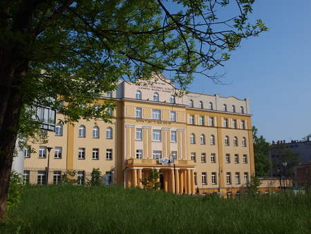 architectural studies: Yeshiva Chachmei Lublin, Lublin, Poland