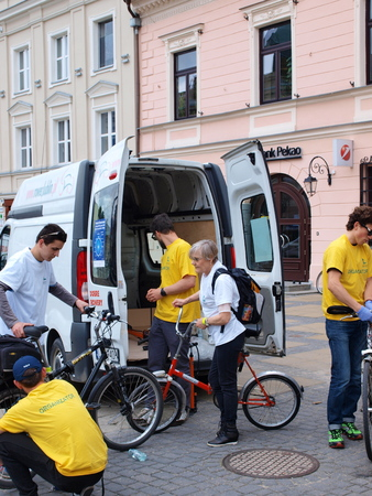 lubelszczyzna: Cycling parade, 4th edition, Lublin, Poland, May 18th 2014