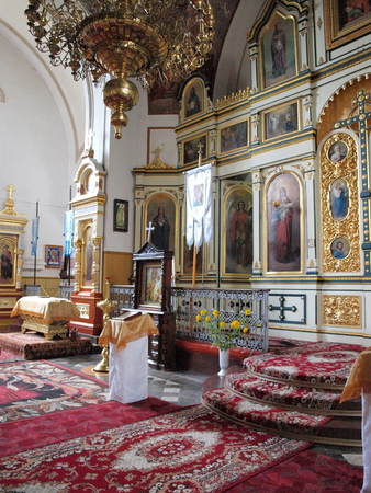 lubelszczyzna: The Orthodox Church of the Nativity of the Mother of God  WÅ'odawa, Poland Editorial