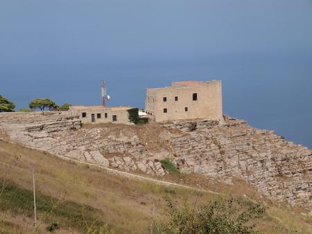 Spanish quarters, Erice, Sicily, Italy photo