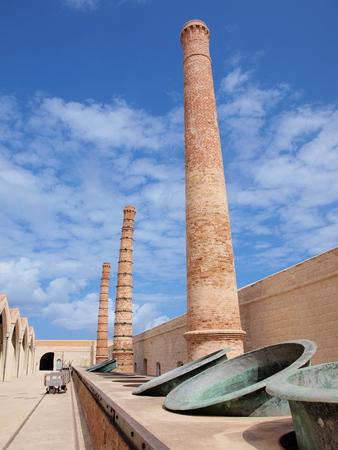 Former tuna factory of the Florio family, Favignana, Sicily, Italy photo