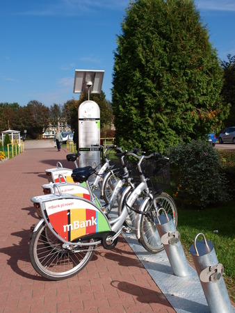 lubelszczyzna: The new Lublin bike rental has been a hit since it opened last week, Lublin, Poland