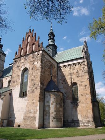 saint martin: The Collegiate Church of Saint Martin of Tours, Opatow, Poland