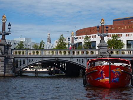 netherlands: Canals in Amsterdam, Netherlands