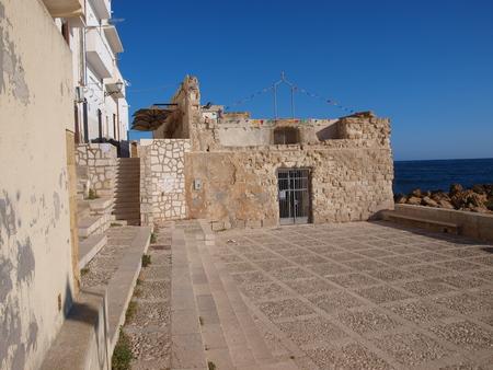 liberal: The stony church of Saint Liberal, the patron saint of fishermen, Trapani, Sicily, Italy