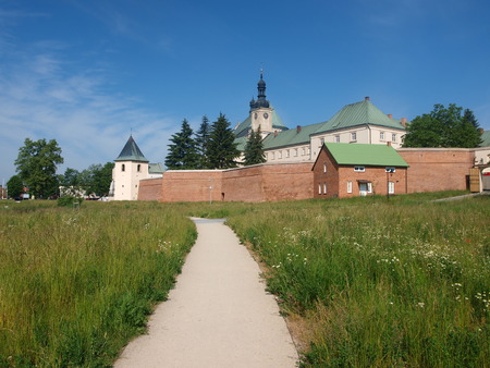 monastic sites: Fortified Benedictine monastery and the Basilica of the Annunciation of the Virgin Mary, Lezajsk, Poland