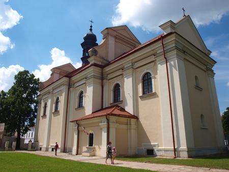 alexandria: St Catherine of Alexandria church, Zamosc, Poland Editorial
