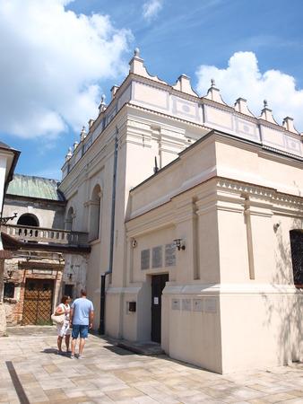 synagogue: Jewish synagogue, Zamosc, Poland Editorial
