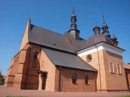 The church of the Elevation of the Holy Cross, Zvolen, Poland Editorial