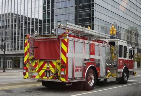 Feuerwehrwagen Editorial
