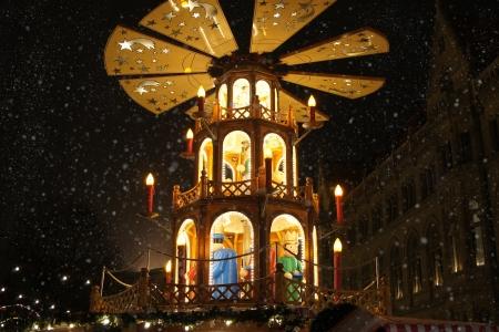 Weihnachten merry-go-round