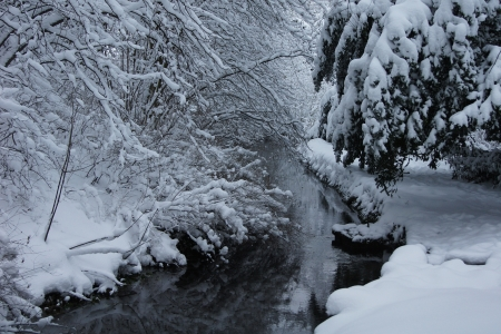 winter river            Stock Photo - 14935772