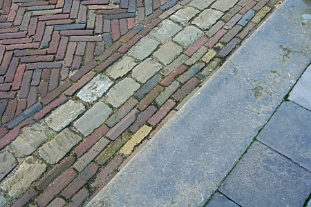 photo, jpg, cobbles pavement                   Stock Photo - 17278033