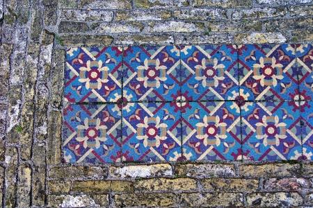 Foto, jpg, alte Kopfsteinpflaster Mosaik Elements Lizenzfreie Bilder
