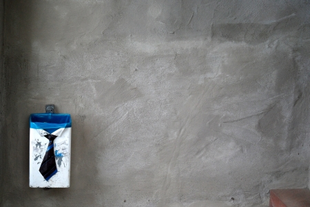 dustbin inthe wall