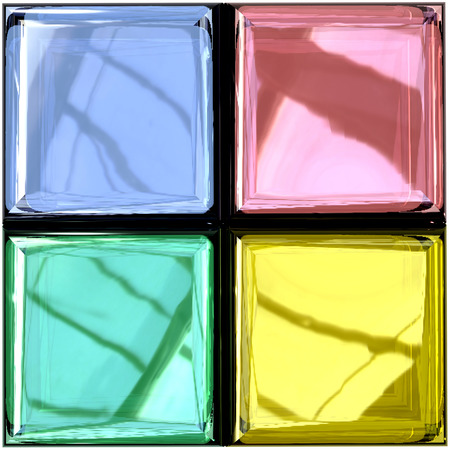 Colored Glass Palette