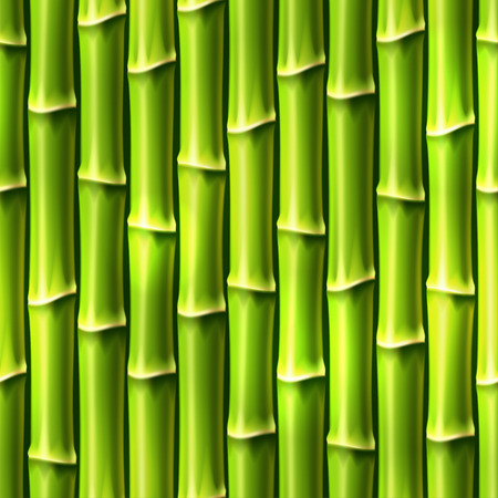 asian gardening: Seamless Background with Bamboo . Vector illustration, eps10.