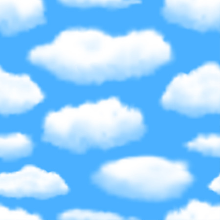 seamless sky: Seamless Sky Background.  Illustration