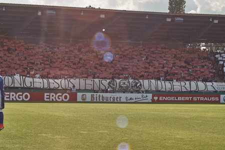 DFB Cup BFC Dynamo against FC Schalke 04
